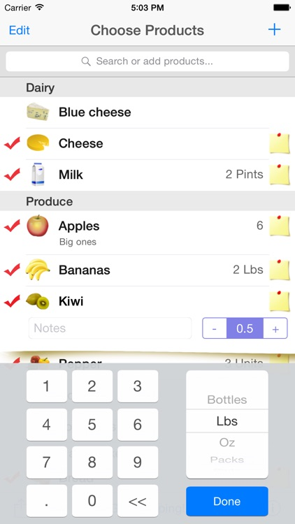 Shopping List - Quick and Easy screenshot-3