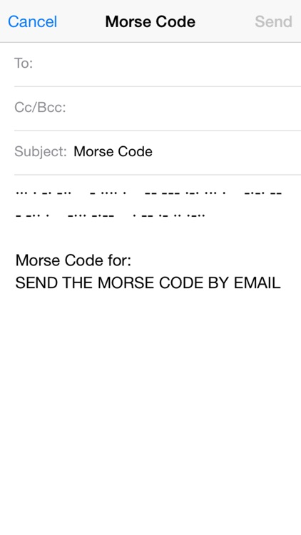 Morse Code screenshot-4