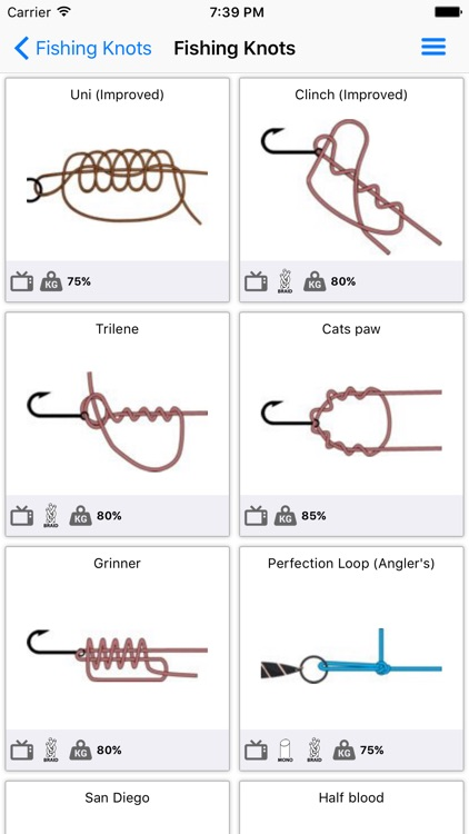 Fishing Knots Pro screenshot-1