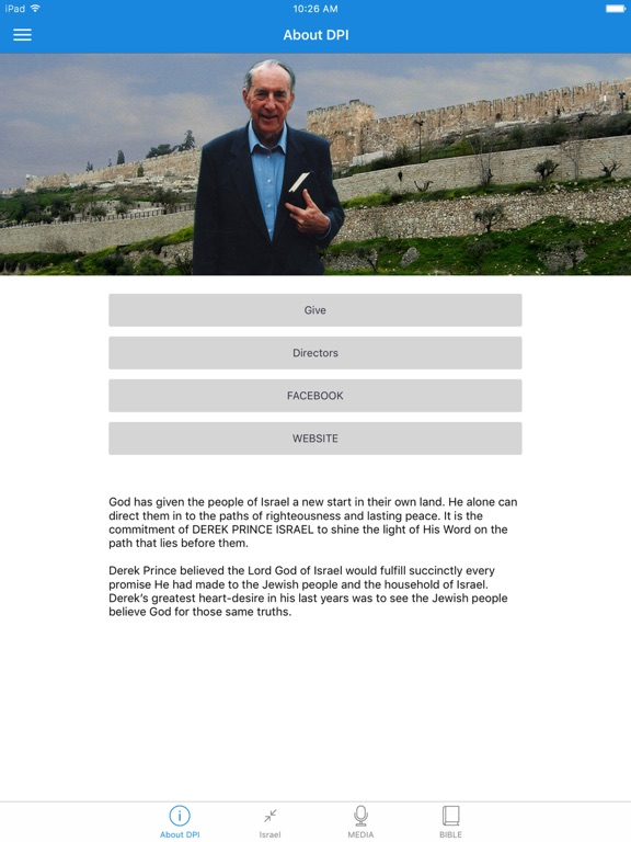Derek Prince Israel screenshot 4