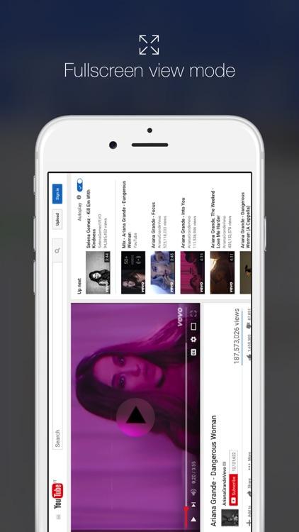 Minimal Browser - Smart Desktop Browsing screenshot-4