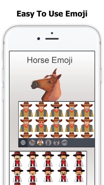 Horse Emoji - Equestrian Sticker