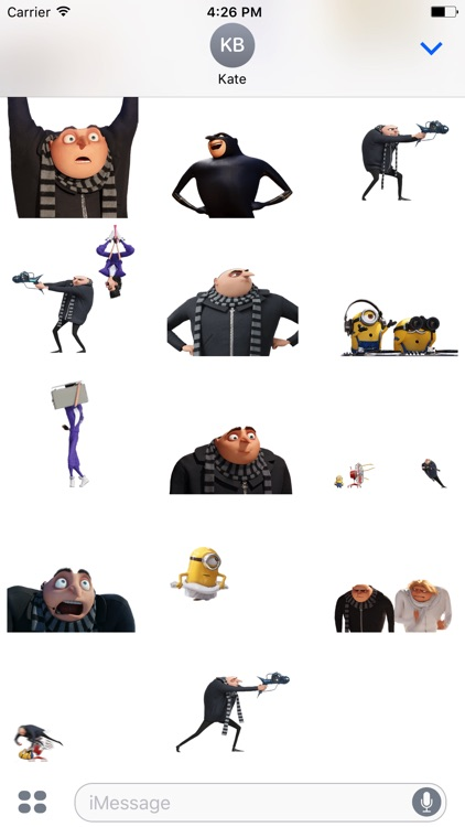 Despicable Me 3 Stickers screenshot-3