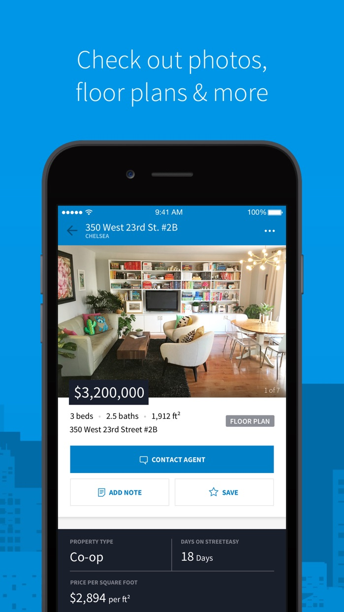 StreetEasy NYC Rentals & Sales Screenshot
