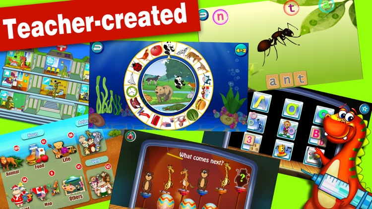 Joy Land- Kids Educational Learning Games abc baby screenshot-3