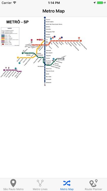 Sao Paulo Metro screenshot-4