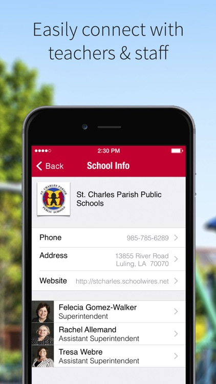 St. Charles Parish Schools screenshot-1