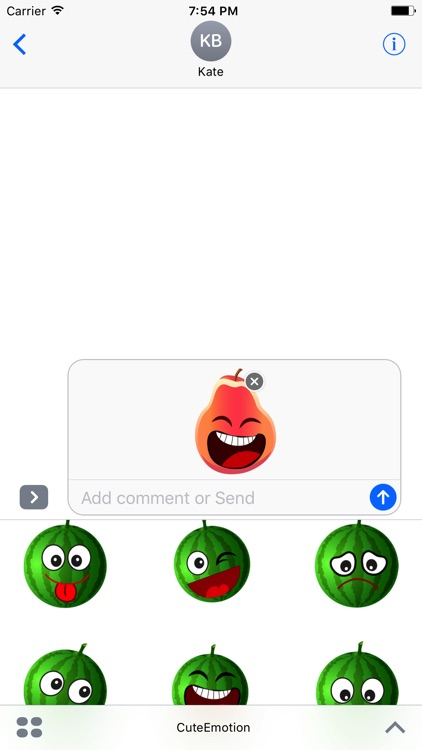 Cute Emotion Stickers