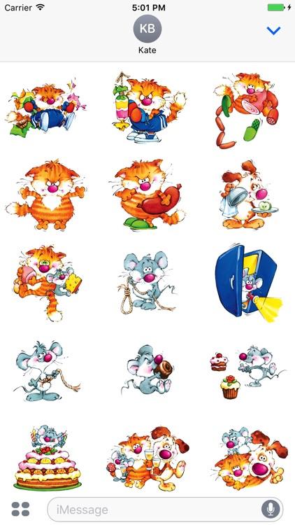 Happy Fridge Robbers Stickers