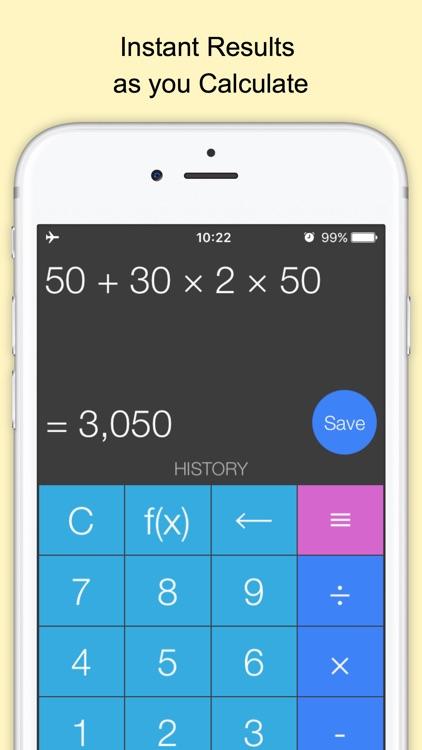 Xmart Calculator Pro screenshot-0