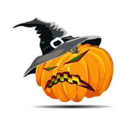 Halloween stickers by kayaairt for iMessage