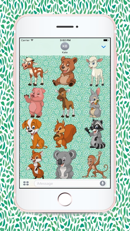 Cute Baby Animal Stickers