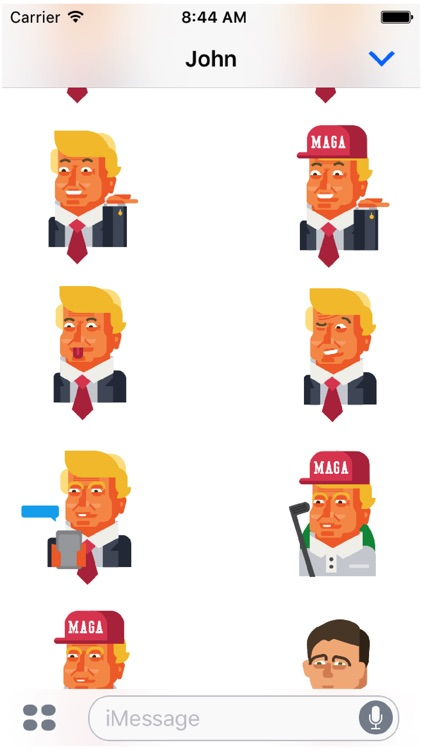 Trump and Friends Sticker Pack screenshot-3
