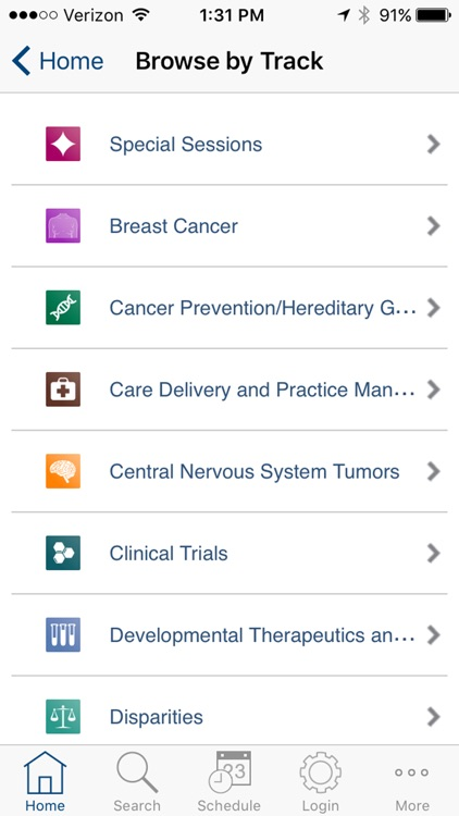 ASCO 2017 iPlanner screenshot-2