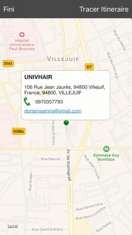UNIVHAIR screenshot-4