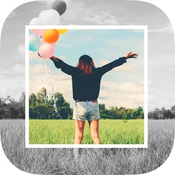 Insta frame - white square photo frames & editor