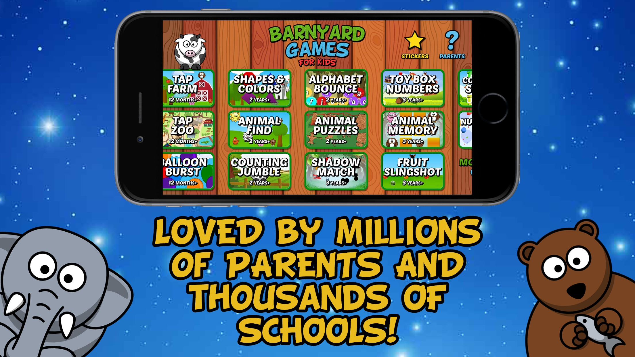 Barnyard Games For Kids Screenshot