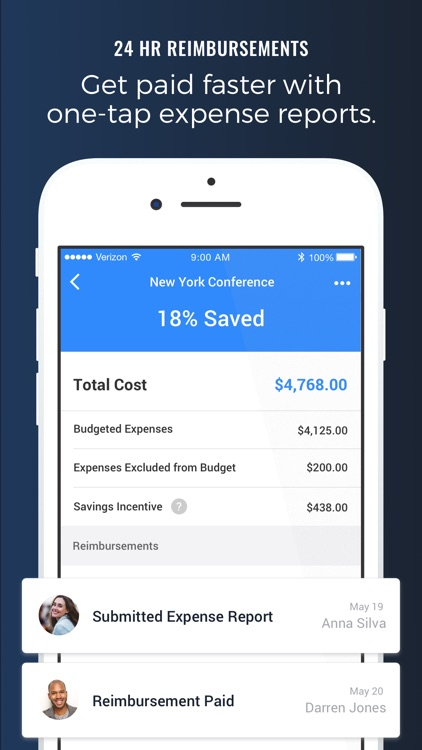 TravelBank - Business Travel & Receipt Tracking screenshot-4