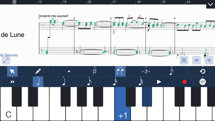 Symphony for iPhone - Composition & Notation screenshot-0