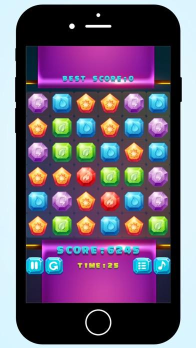 Magic Crystals match 3 screenshot three