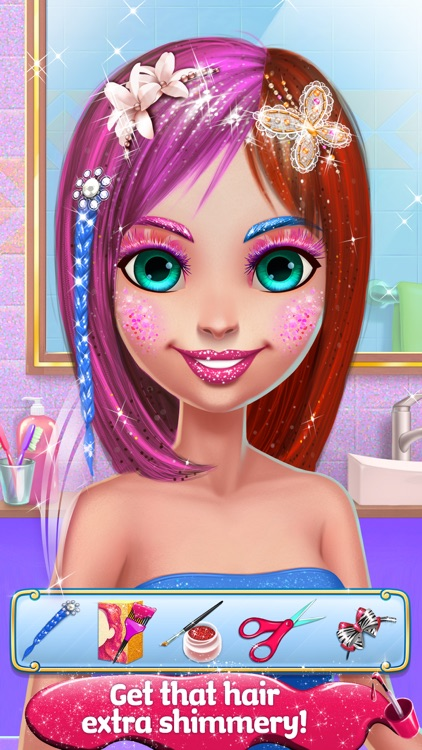 Glitter Makeup Salon screenshot-3