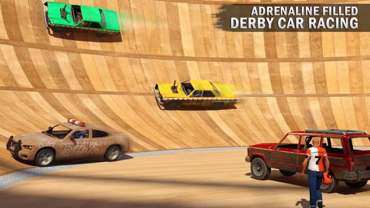 Death Well Demolition Derby - Stunt Car Crash Test screenshot-3
