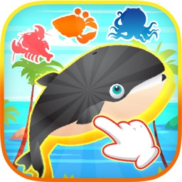 Animal Drag And Drop Puzzle