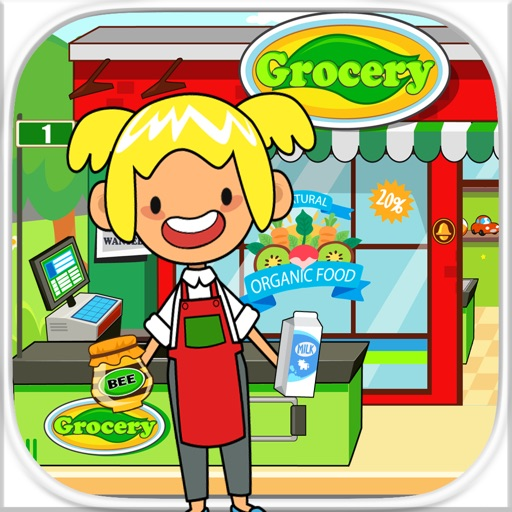 My Pretend Grocery Store - Supermarket Learning