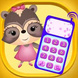 Candy Raccoon: Baby Phone