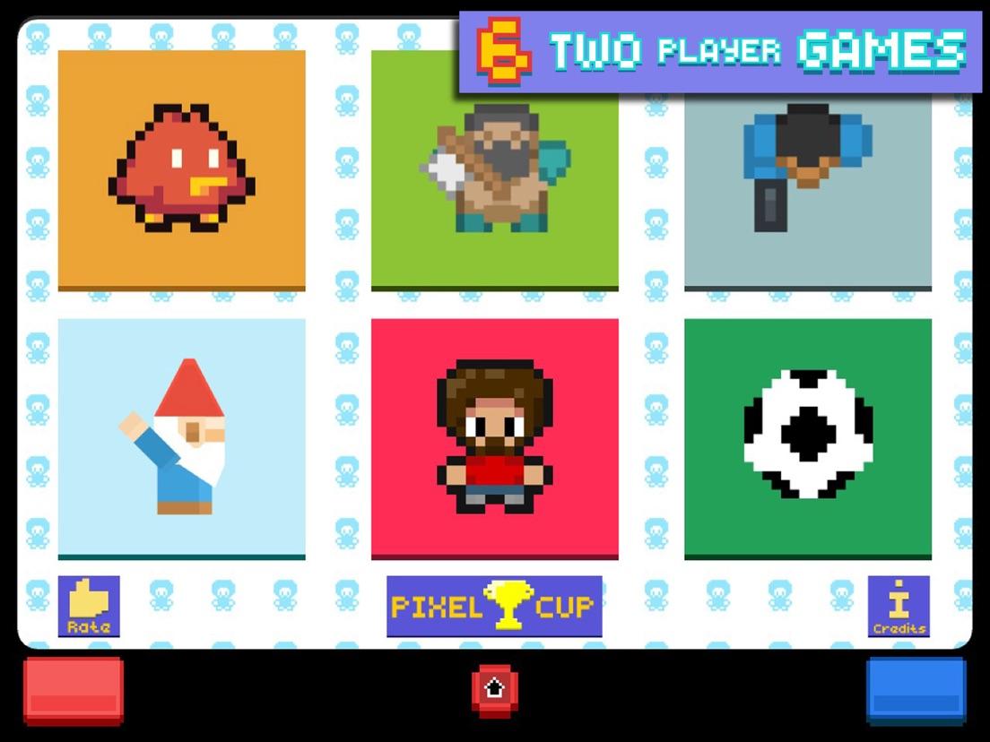 2 Speler Pixel Spelletjes Pro App Voor Iphone Ipad En Ipod