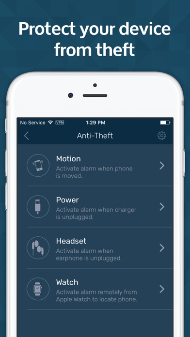 Mobile Security & Anti Theft Protection for iPhone