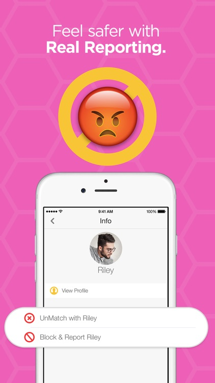 Bumble – Find a Date, Meet Friends & Network app image