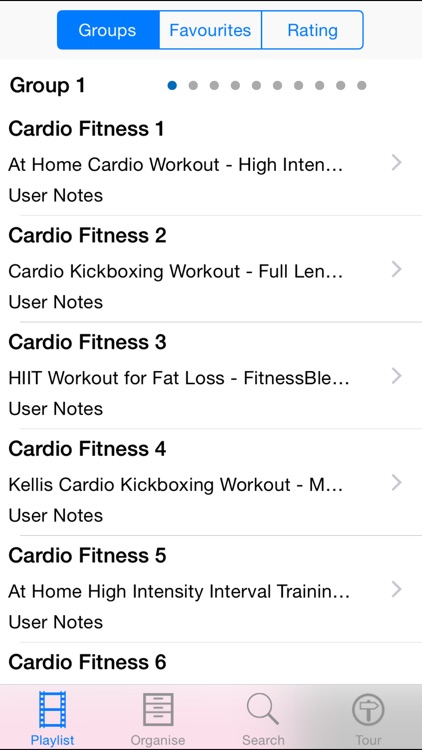 Cardio Fitness screenshot-1