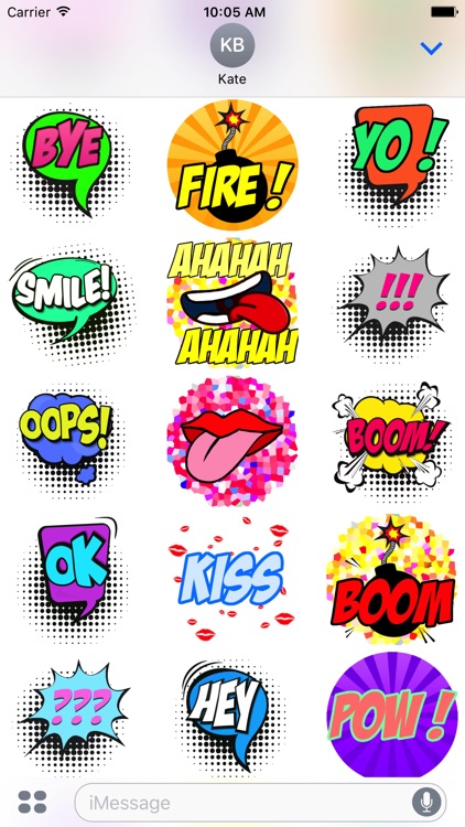 Cartoons Stickers screenshot-2