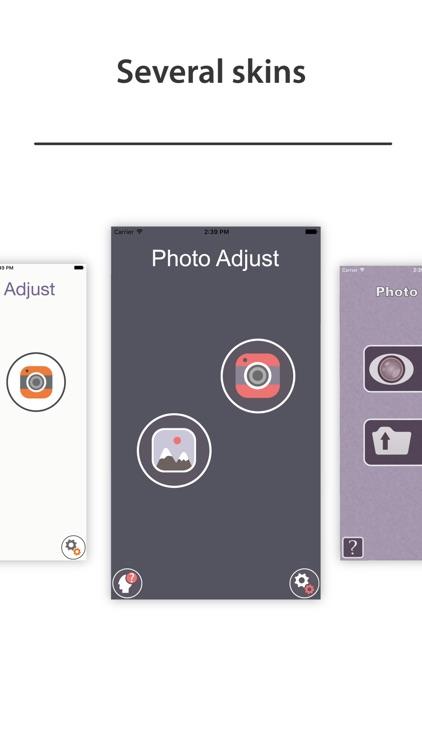 Photo Adjust - brighten faded image to vivid app image