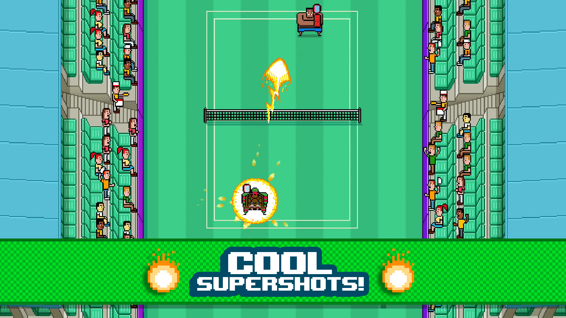 Timber Tennis screenshot 13