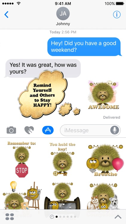 Moodzie and Emoji Sticker Pack For iMessage