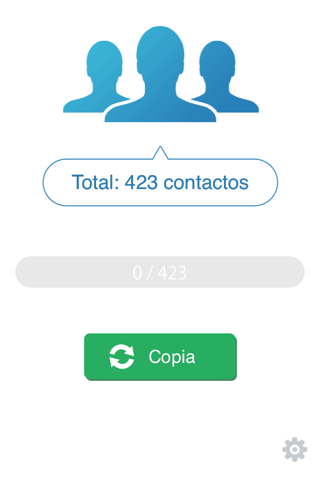 My Contacts Backup Pro screenshot 1