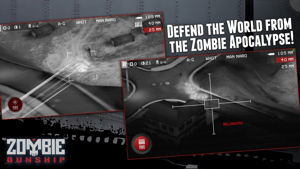 Zombie Gunship: Gun Down Zombies hack tool