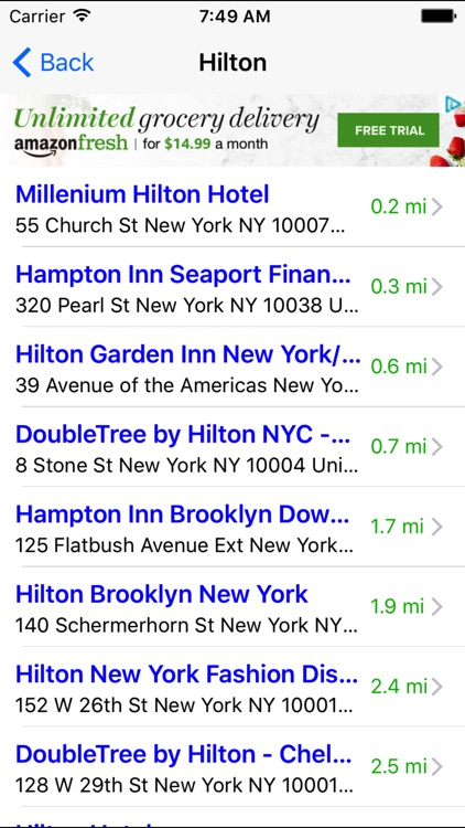 Hotel Finder: Find Nearest Hotels & Motels Near Me