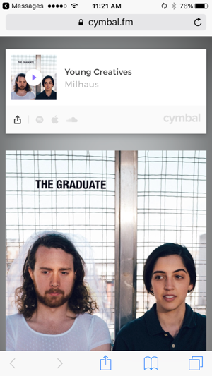 Cymbal - The Music Community Screenshot