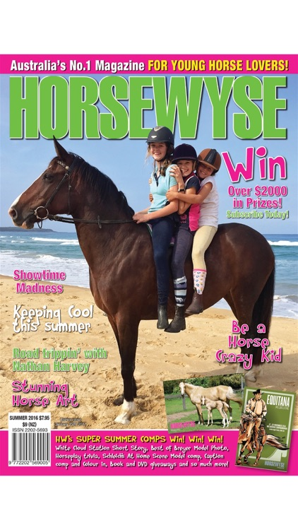 Horse Wyse Magazine - Australia's No.1 Horse Magazine for teen and tweens