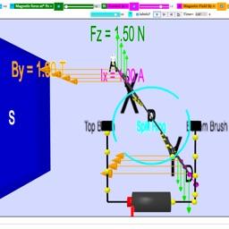DC Motor 3D Simulator