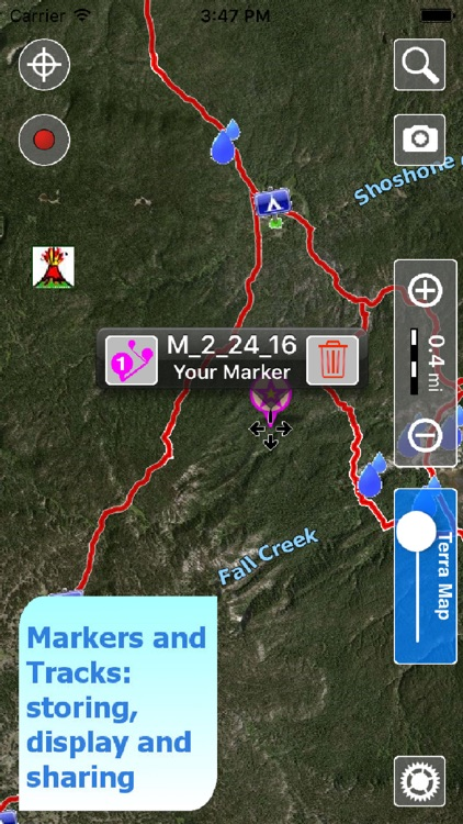 Terra Map - GPS Hiking trail maps | HD screenshot-3