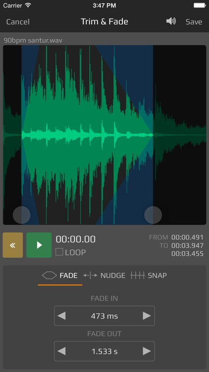 AudioShare - audio document manager screenshot-3
