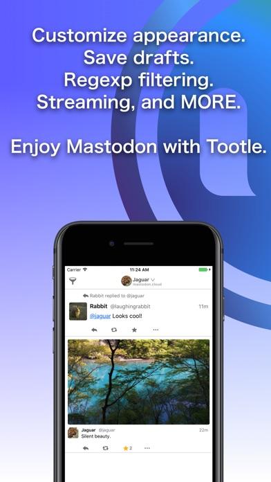 Tootle for Mastodon