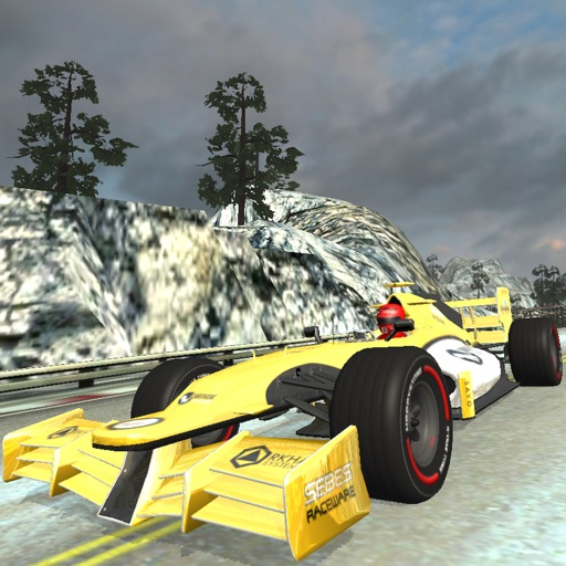 Snow Hill Auto Racing Car Game Icon
