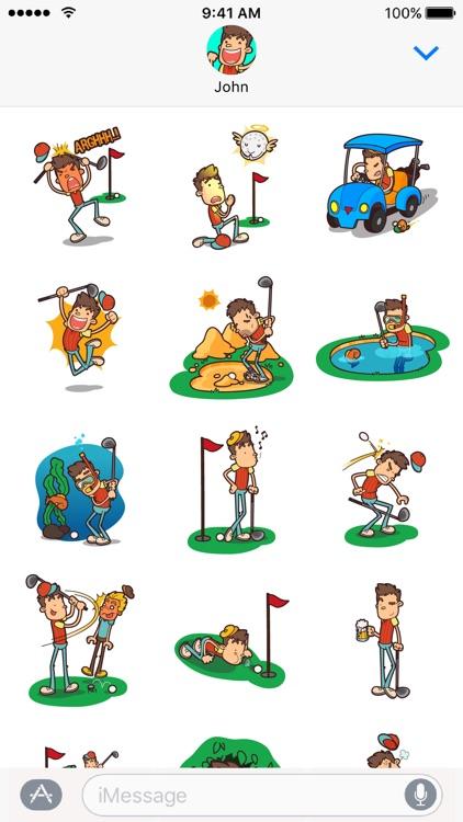 GolferMoji - Golf Emoji Keyboard + Stickers