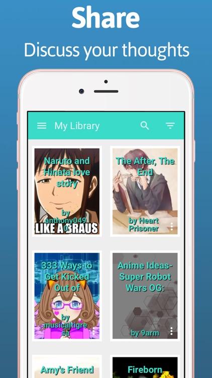 ReadUp FanFiction eBook Reader screenshot-3