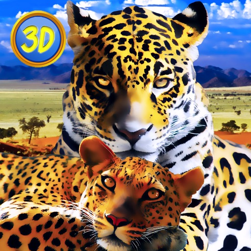 Leopard Family Simulator icon